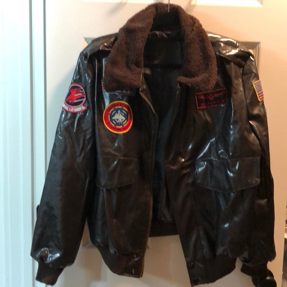 Leg Avenue Jackets Coats Top Gun Bomber Jacket Costume Poshmark